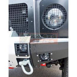 Light set for Tembo 4x4 winchbumper 2x Flood & 2x Narrow LED - TB1008