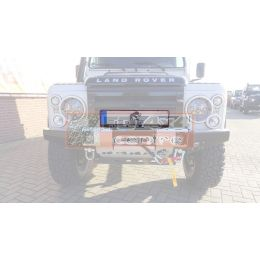 Tembo 4x4 Licence plate holder for Tembo 4x4 winchbumpers - TB1010