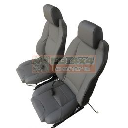 Elite Seat MK2 (Pairs Only) Grey Leather
