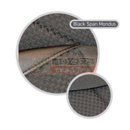 "90""/110"" R/H Front Outer Seat >2007 - Black Span/Mondus Cloth"