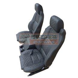 Elite Seat MK2 (Pairs Only) Diamond XS Leather