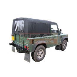 90  Full Hood  TD5/TD4  Mohair Black  WSW - EXT201-16NYM