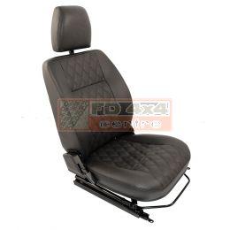 "90""/110"" R/H Front Outer Seat Diamond Black - EXT303-DBXS"