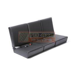Standard Complete Front Seat Set Black Vinyl - EXT371-BV