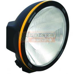 "8.7"" ROUND BLACK 50 WATT HID XTREME EURO LAMP - HID-8550XP"