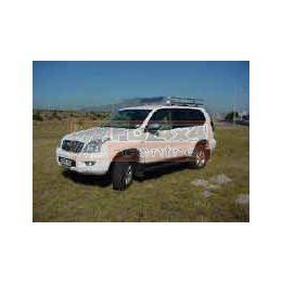 Tembo 4x4 Roofrack PRADO/120 LWB 2003>gutterless  - TBPR03
