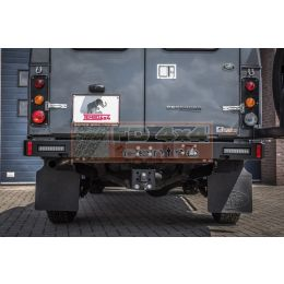 Tembo 4x4 rear bumper for Land Rover Defender 130  - TB1100