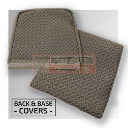Inward Facing Tip Up - Back and Base Covers