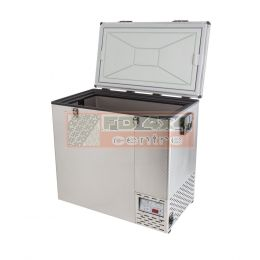 NL 125 STAINLESS STEEL REFRIGERATOR & FREEZER - NL-FRI-11250