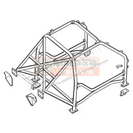 Safety Devices Roll Cage Freelander 1 - RBL1506SSS