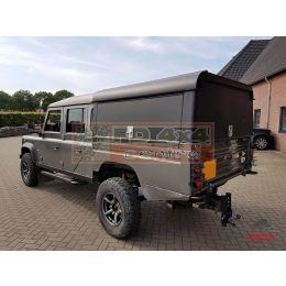 Tembo 4x4 hardtop 130 3x upward rear-side doors / no windows - rubber hinge rear
