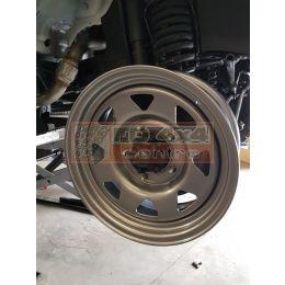 "Tembo 4x4 steel wheel 16"" + BFGoodrich AT 265/75R16 fitted/balanced - TB9091"
