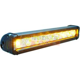 "12"" XMITTER LOW PROFILE BLACK 9 3W AMBER LED'S 10° NARROW - XIL-LP910A"