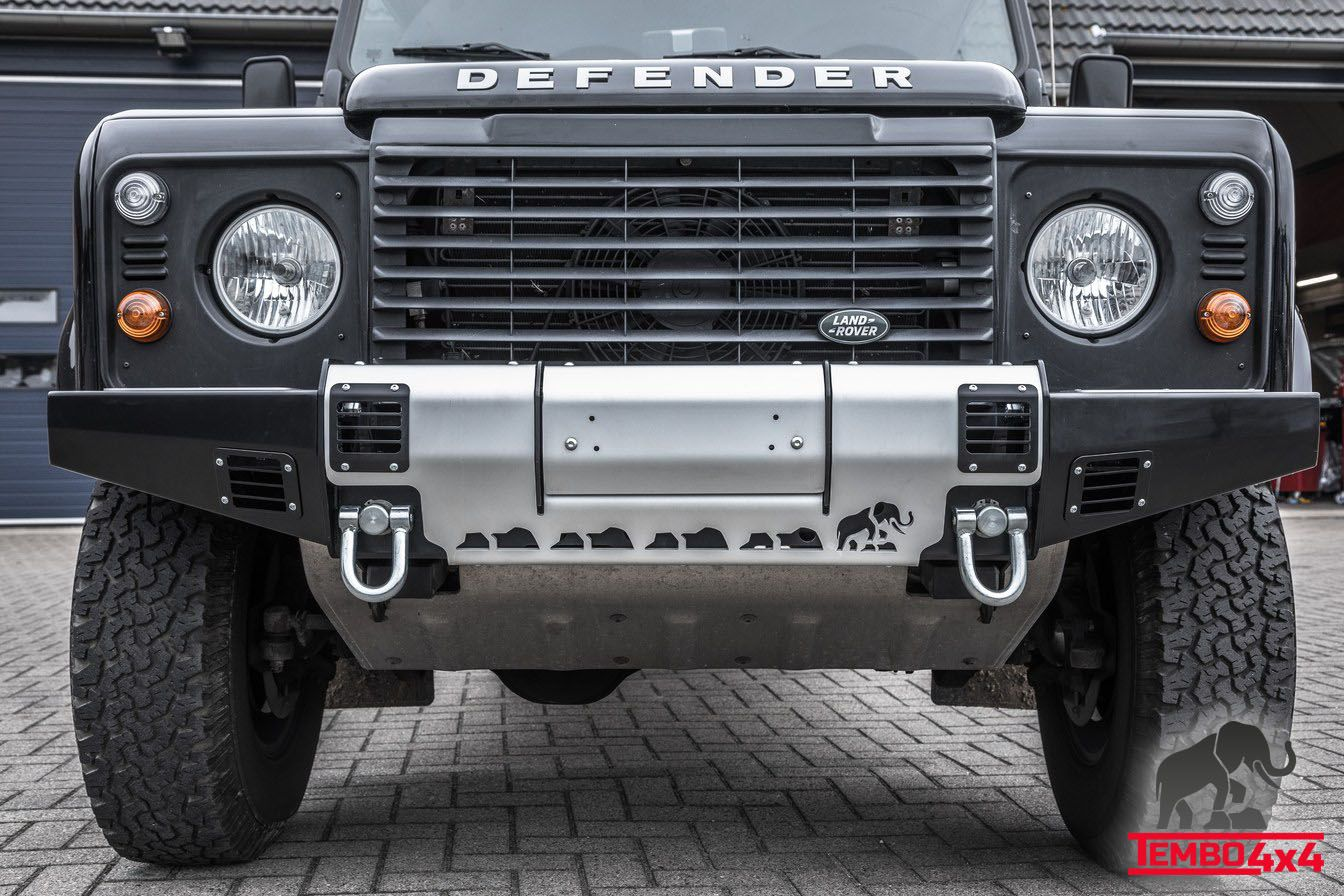 Tembo 4x4 Winch Bumper Land Rover Defender Landcruiser 70 Series Winchbumper For Tb1002