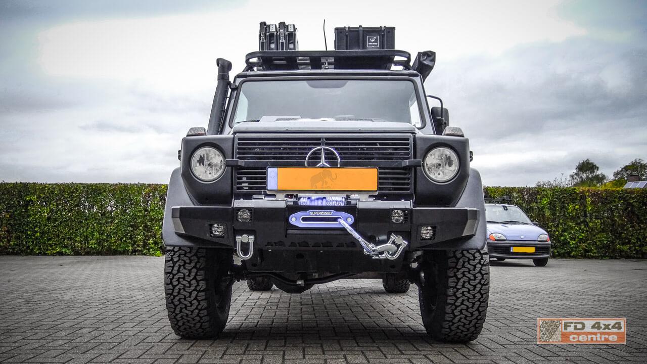 Mercedes g winchbumper