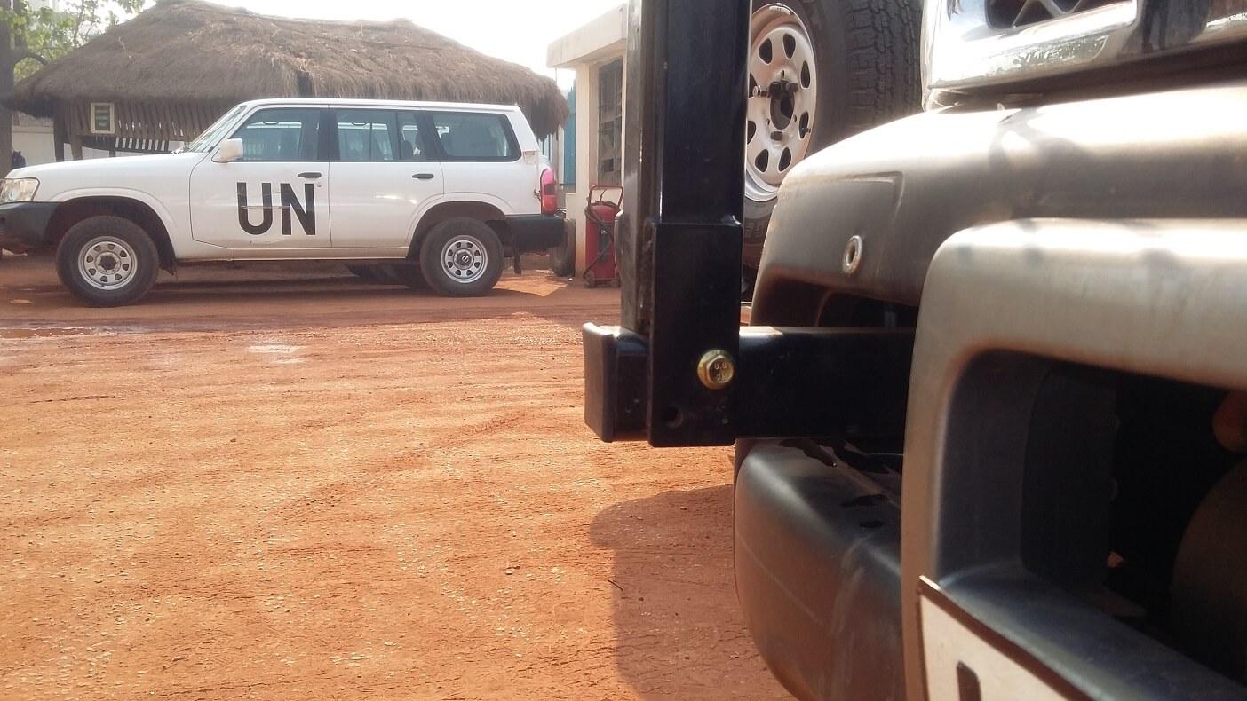 Codan Antenna bracket nissan Patrol