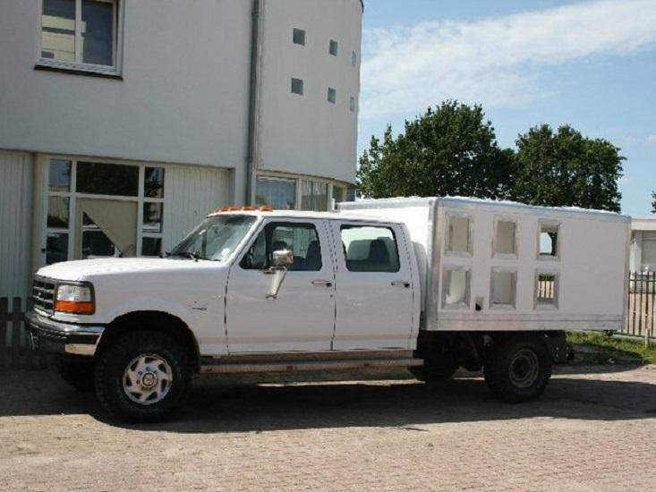Ford pick up custom body