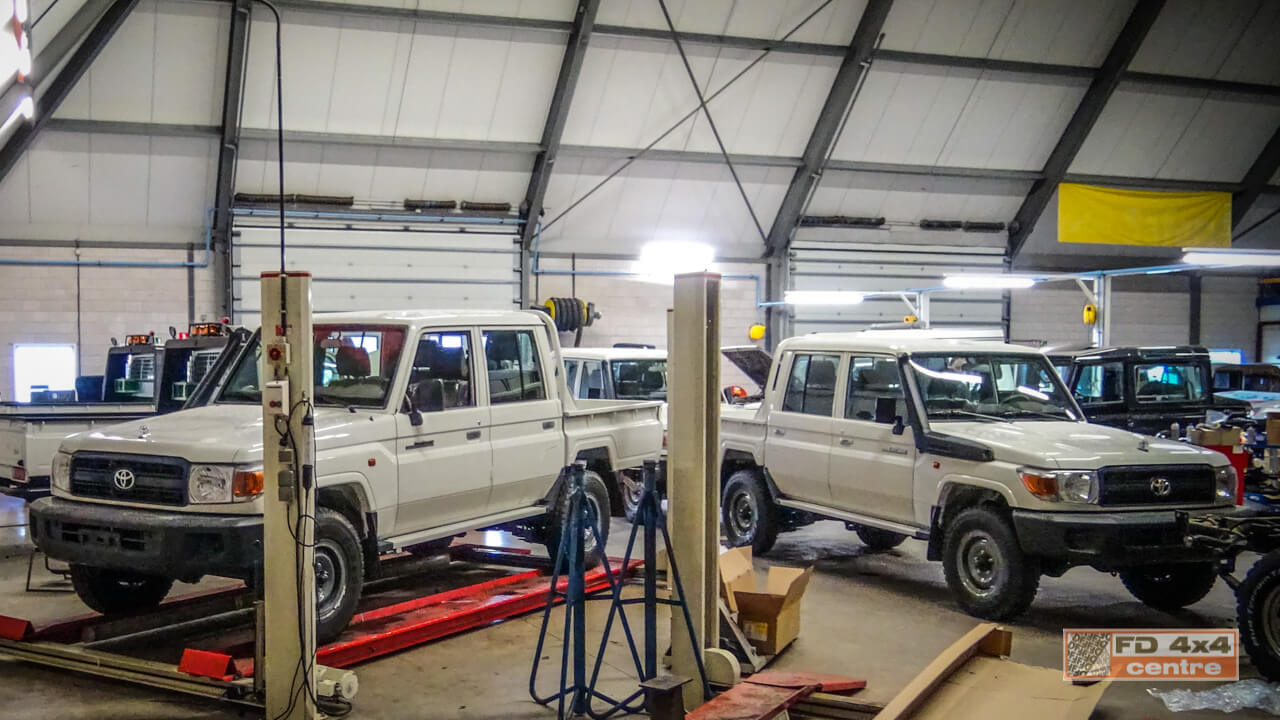 Workshop FD 4x4 Centre