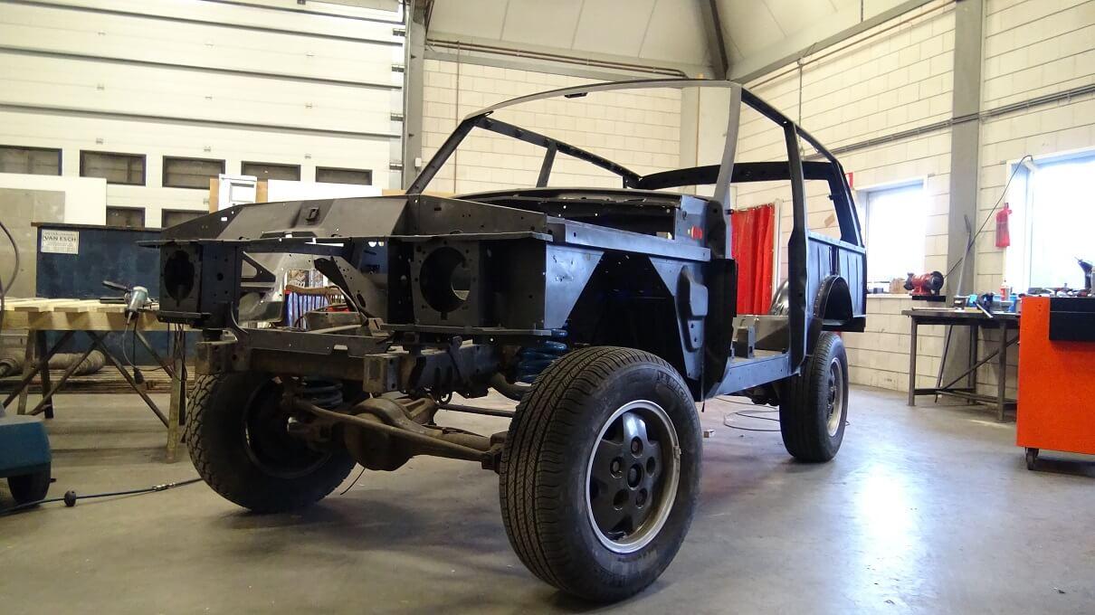 range rover restoration