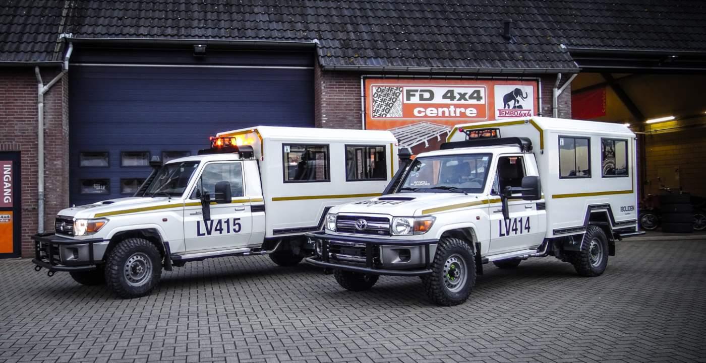Mining vehicles fleet