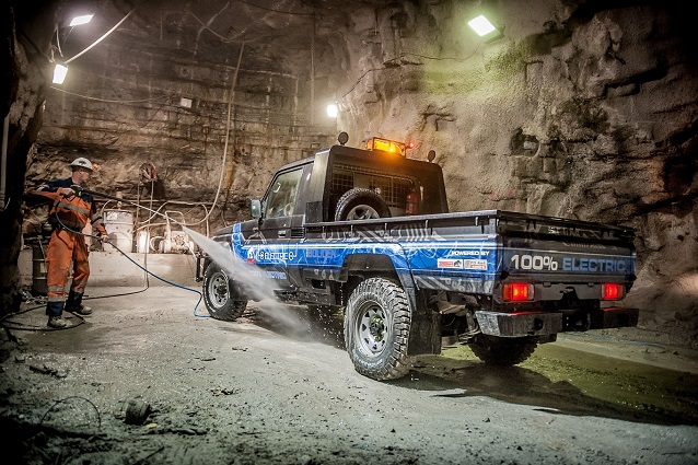Mining Land Cruiser electric conversion