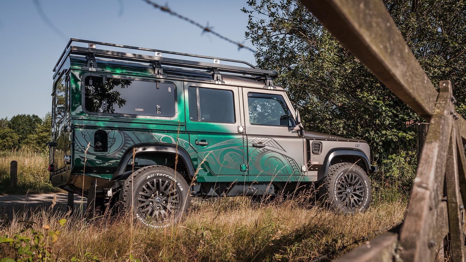 Maori Land Rover Defender tuning