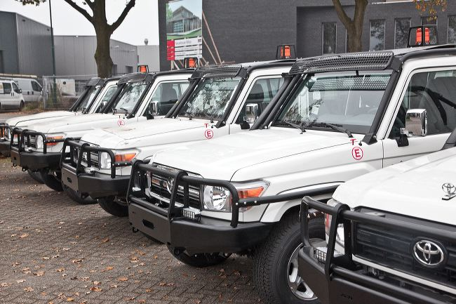 Mining vehicles landcruiser fleet
