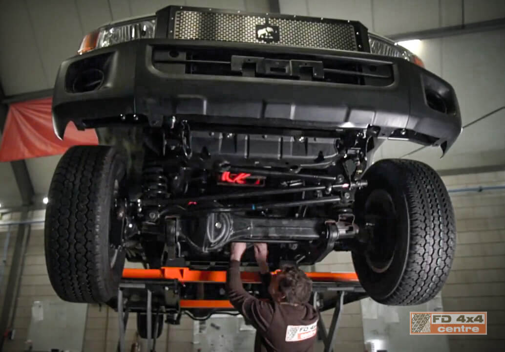 FD 4x4 workshop