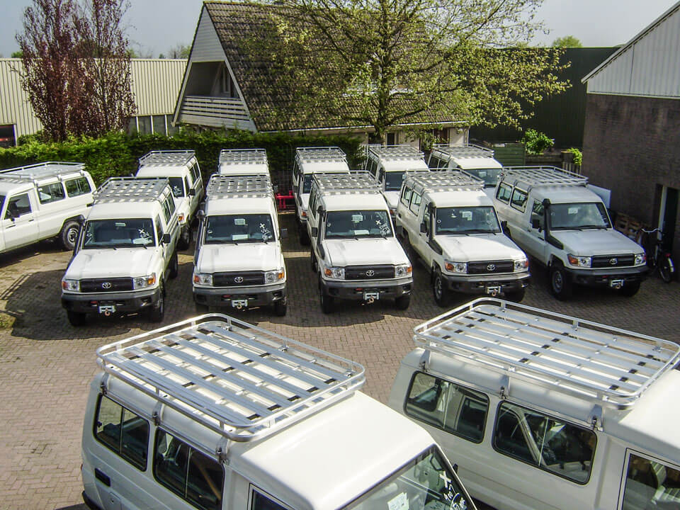 Toyota 70 series fleet